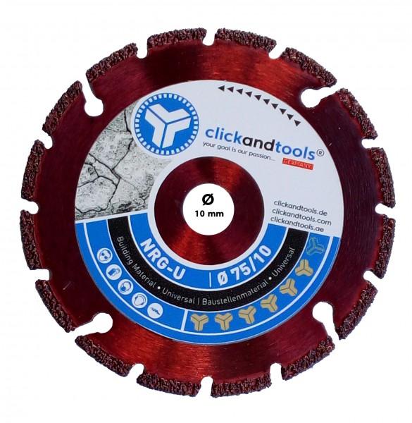 Diamanttrennscheibe clickandtools® Energizer Universal