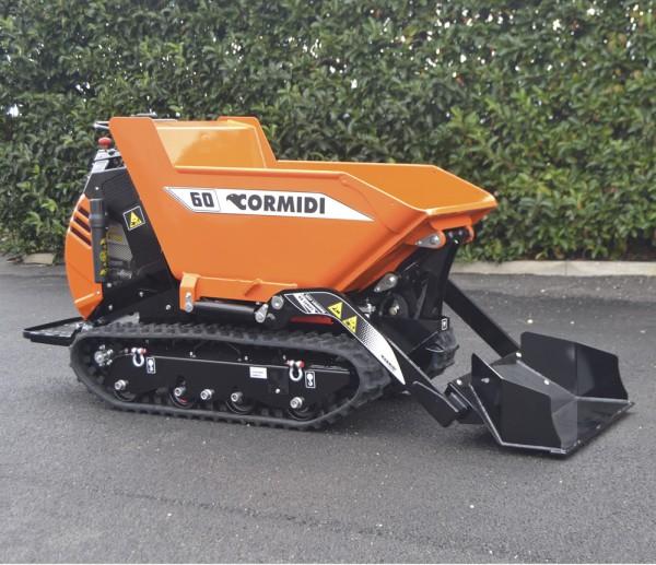 MiniDUMPER CORMIDI C60 DEAC  Steinmuldenkipper