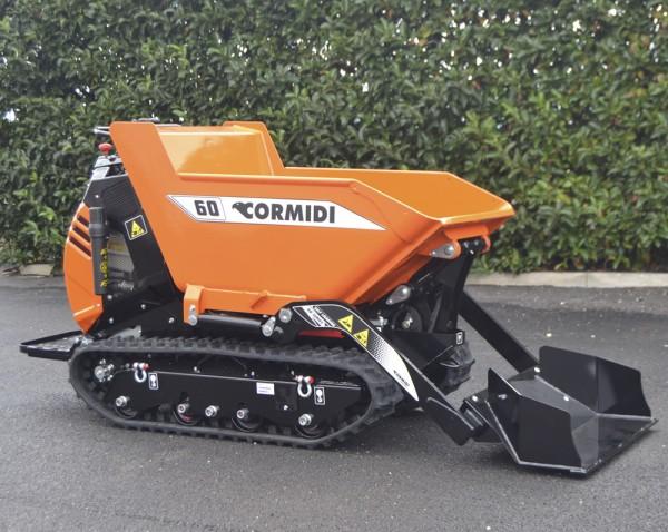 MiniDUMPER CORMIDI C60 ACDHE Yanmar Diesel