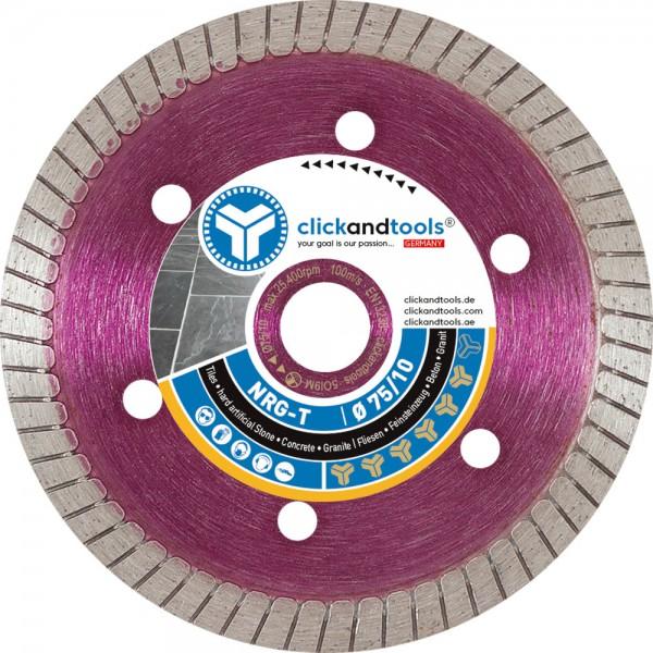 Diamanttrennscheibe clickandtools® Energizer Turbo