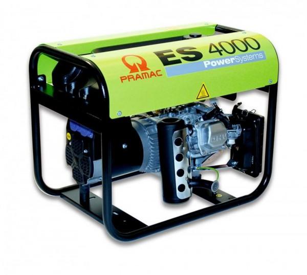 Pramac Stromerzeuger ES 4000SHI Notstromaggregat 220V mit 2 Steckdosen