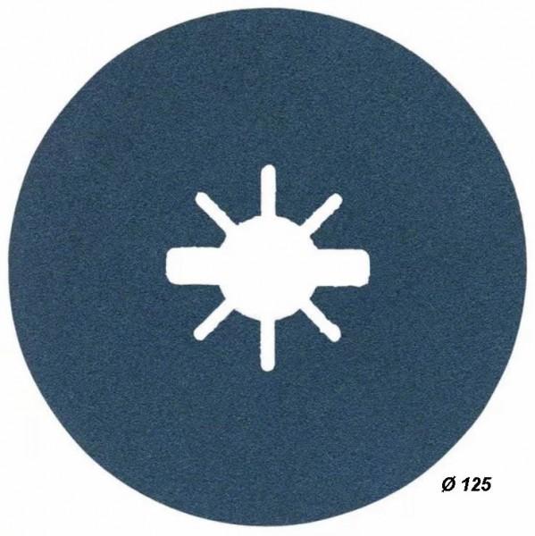 X-LOCK Fiberschleifscheibe, Ø125 mm, K 100